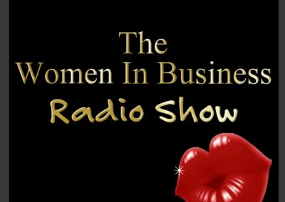Main Bio The Women In Business Radio show Spreaker Logo
