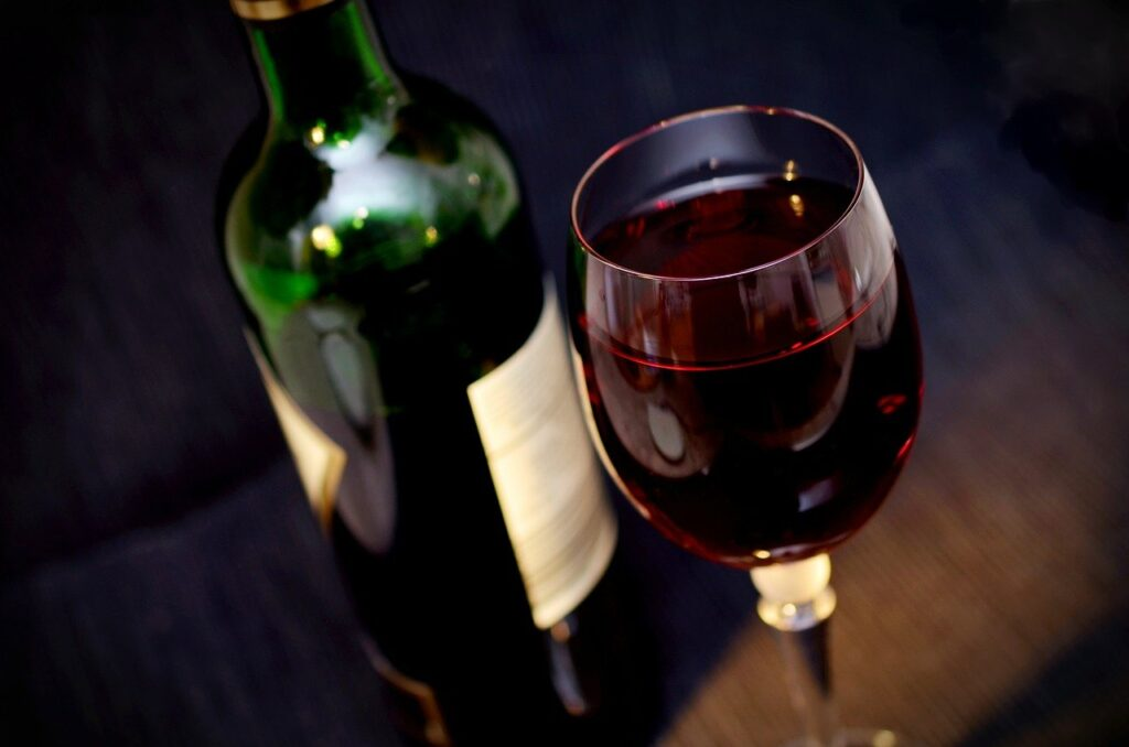 wine, red wine, glass